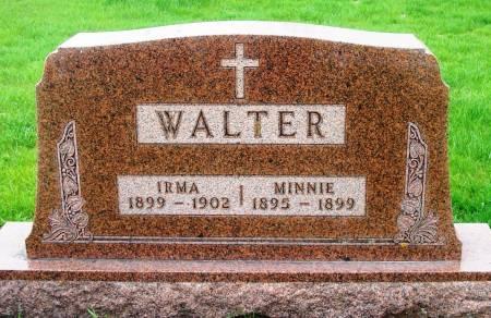WALTER, IRMA - Benton County, Iowa | IRMA WALTER