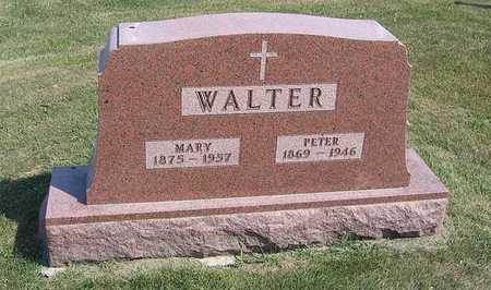 WALTER, MARY - Benton County, Iowa   MARY WALTER