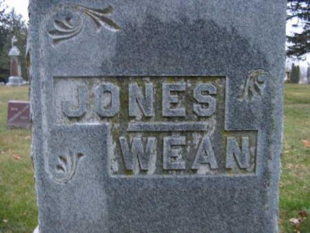 WEAN-JONES, FAMILY STONE - Benton County, Iowa | FAMILY STONE WEAN-JONES