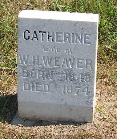 WEAVER, CATHERINE - Benton County, Iowa | CATHERINE WEAVER