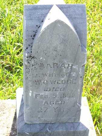 WEDGE, SARAH - Benton County, Iowa | SARAH WEDGE