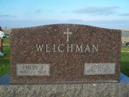 WEICHMAN, EMERY J. - Benton County, Iowa | EMERY J. WEICHMAN