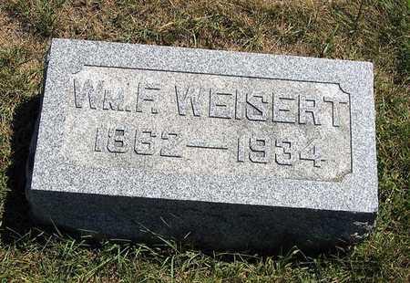 WEISERT, WM. F. - Benton County, Iowa | WM. F. WEISERT