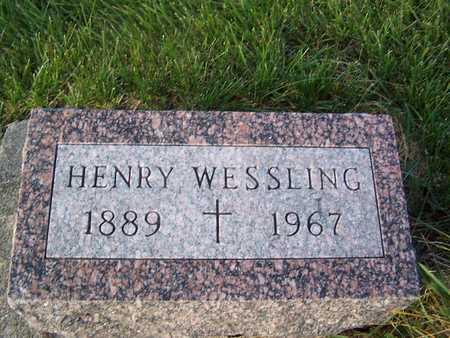WESSLING, HENRY - Benton County, Iowa   HENRY WESSLING