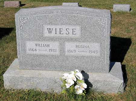 WIESE, ROSINA - Benton County, Iowa | ROSINA WIESE