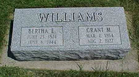 WILLIAMS, GRANT M. - Benton County, Iowa | GRANT M. WILLIAMS