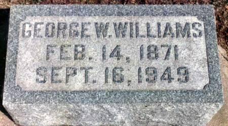 WILLIAMS, GEORGE WASHINGTON - Benton County, Iowa | GEORGE WASHINGTON WILLIAMS