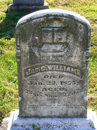 WILLIAMS, JAMES C. - Benton County, Iowa | JAMES C. WILLIAMS