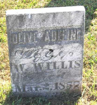 WILLIS, OLIVE ADELINE - Benton County, Iowa | OLIVE ADELINE WILLIS