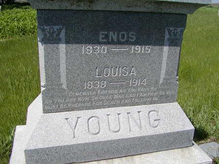YOUNG, LOUISA - Benton County, Iowa | LOUISA YOUNG
