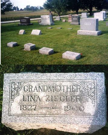 ZIEGLER, LINA - Benton County, Iowa   LINA ZIEGLER