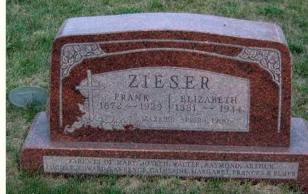 ZIESER, ELIZABETH - Benton County, Iowa | ELIZABETH ZIESER