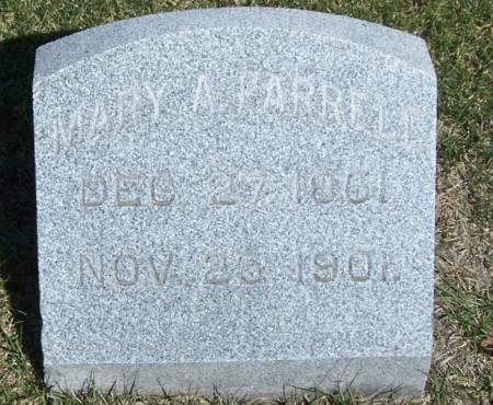 FARRELL, MARY A - Benton County, Iowa | MARY A FARRELL