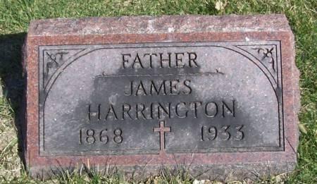 HARRINGTON, JAMES - Benton County, Iowa   JAMES HARRINGTON