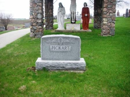 PICKART, HENRY FAMILY STONE - Benton County, Iowa | HENRY FAMILY STONE PICKART