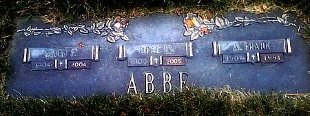 ABBE, ELLEN F. - Black Hawk County, Iowa | ELLEN F. ABBE