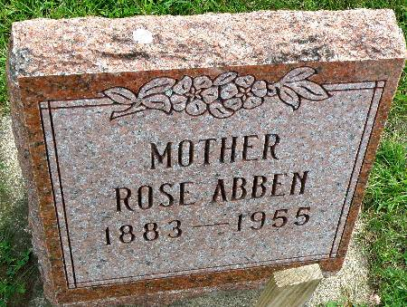 ABBEN, ROSE - Black Hawk County, Iowa | ROSE ABBEN