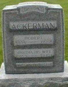 DAVIS ACKERMAN, MARTHA - Black Hawk County, Iowa | MARTHA DAVIS ACKERMAN