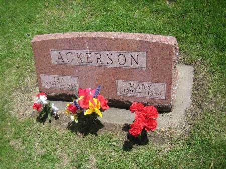 BUCHHOLZ ACKERSON, MARY CAROLINE - Black Hawk County, Iowa | MARY CAROLINE BUCHHOLZ ACKERSON