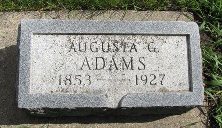 ADAMS, AUGUSTA G. - Black Hawk County, Iowa | AUGUSTA G. ADAMS