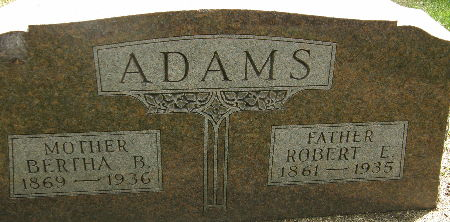 ADAMS, BERTHA B. - Black Hawk County, Iowa | BERTHA B. ADAMS
