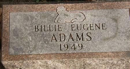 ADAMS, BILLIE EUGENE - Black Hawk County, Iowa | BILLIE EUGENE ADAMS