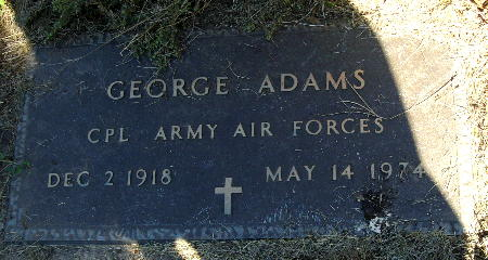 ADAMS, GEORGE - Black Hawk County, Iowa | GEORGE ADAMS