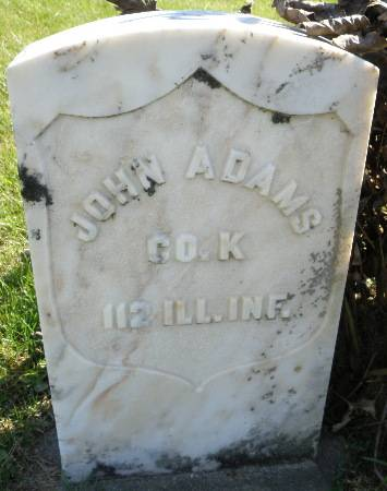 ADAMS, JOHN - Black Hawk County, Iowa | JOHN ADAMS