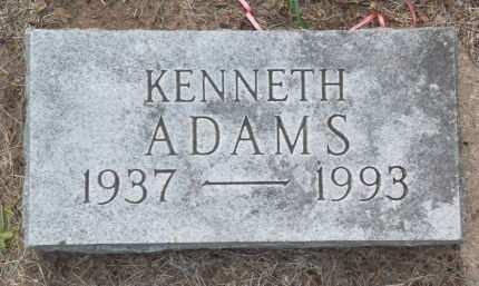 ADAMS, KENNETH - Black Hawk County, Iowa | KENNETH ADAMS