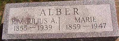 ALBER, JULIUS A. - Black Hawk County, Iowa | JULIUS A. ALBER