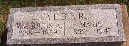 ALBER, MARIE - Black Hawk County, Iowa   MARIE ALBER