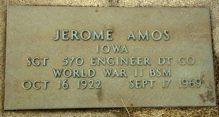 AMOS, JEROME - Black Hawk County, Iowa | JEROME AMOS