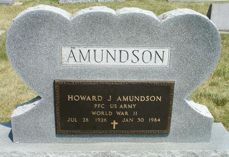 AMUNDSON, HOWARD J. - Black Hawk County, Iowa | HOWARD J. AMUNDSON