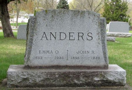 ANDERS, JOHN R. - Black Hawk County, Iowa | JOHN R. ANDERS