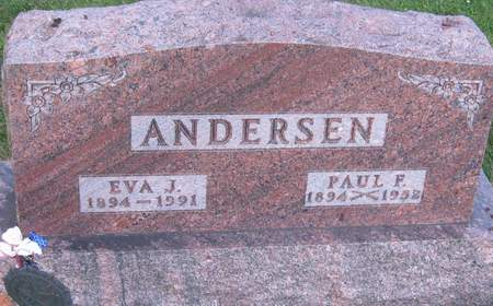 ANDERSEN, PAUL F. - Black Hawk County, Iowa | PAUL F. ANDERSEN