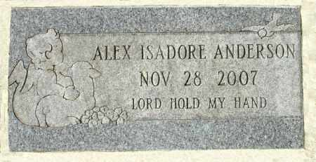ANDERSON, ALEX ISADORE - Black Hawk County, Iowa | ALEX ISADORE ANDERSON