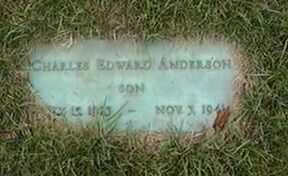 ANDERSON, CHARLES EDWARD - Black Hawk County, Iowa   CHARLES EDWARD ANDERSON