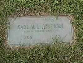 ANDERSON, CARL W. L. - Black Hawk County, Iowa   CARL W. L. ANDERSON