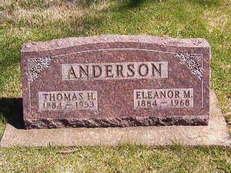 SAVAGE ANDERSON, ELEANOR MAY - Black Hawk County, Iowa | ELEANOR MAY SAVAGE ANDERSON