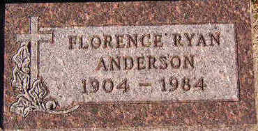 ANDERSON, FLORENCE - Black Hawk County, Iowa | FLORENCE ANDERSON