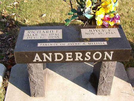 ANDERSON, JOYCE F. - Black Hawk County, Iowa | JOYCE F. ANDERSON
