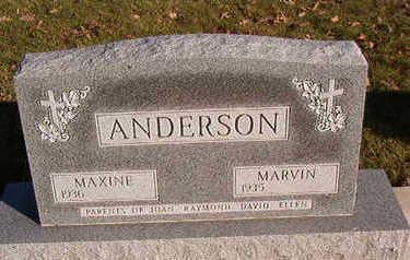 ANDERSON, MAXINE - Black Hawk County, Iowa   MAXINE ANDERSON