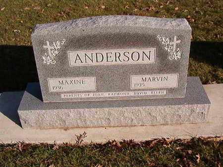 ANDERSON, MARVIN - Black Hawk County, Iowa   MARVIN ANDERSON