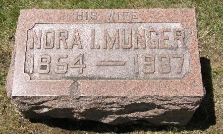 MUNGER ANDERSON, NORA I. - Black Hawk County, Iowa | NORA I. MUNGER ANDERSON