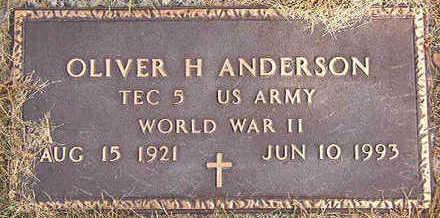 ANDERSON, OLIVER H. - Black Hawk County, Iowa | OLIVER H. ANDERSON
