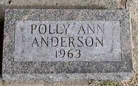 ANDERSON, POLLY ANN - Black Hawk County, Iowa | POLLY ANN ANDERSON