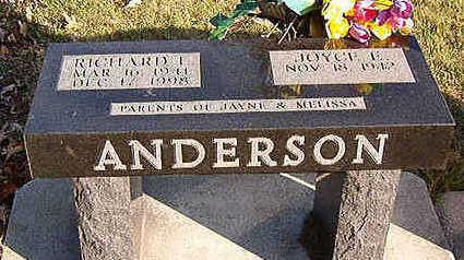 ANDERSON, RICHARD I. - Black Hawk County, Iowa | RICHARD I. ANDERSON