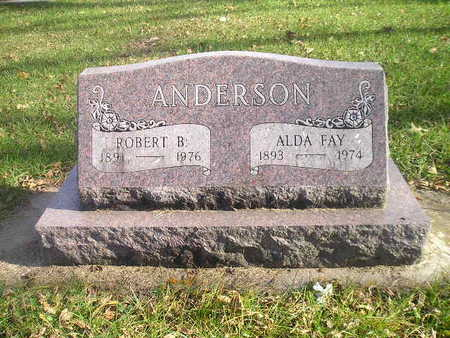 ANDERSON, ALDA FAY - Black Hawk County, Iowa | ALDA FAY ANDERSON