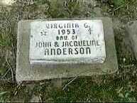 ANDERSON, VIRGINIA G. - Black Hawk County, Iowa | VIRGINIA G. ANDERSON