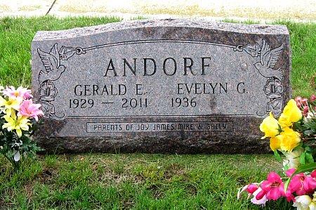 ANDORF, GERALD E. - Black Hawk County, Iowa | GERALD E. ANDORF